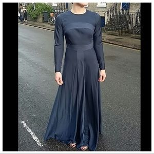ASOS Navy Gown EU34 / US2